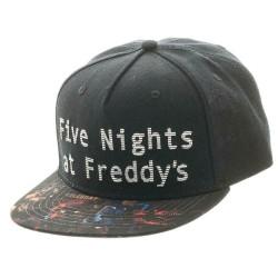 FNAF Cap | Five Nights at Freddys Survival-Horror Sbapback Caps
