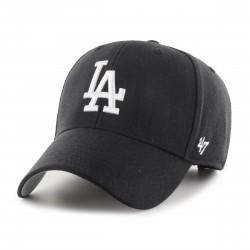 L.A. Dodgers Kappe Schwarz/Grau | MLB 47BRAND Dodgers Baseball Caps Kappen Mützen