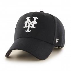 NYM Mets Kappe Schwarz | MLB 47BRAND NEW YORK METS Baseball Caps Kappen Mützen