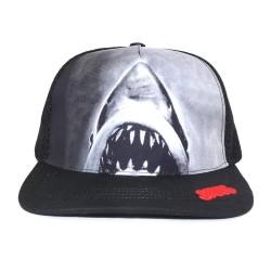 Universal Jaws Trucker Cap | Originale Der weiße Hai Mesh Snapback Caps Kappen Mützen