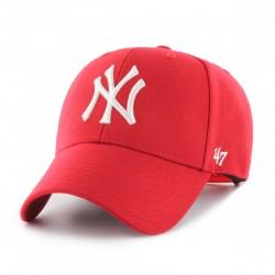 New York Yankees Cap  RotWeiß  Original '47™ MLB YANKEES Basecaps Snapbacks Mützen Hats