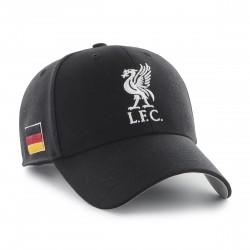 Liverpool L.F.C. Cap Schwarz | Original '47™ FC LIVERPOOL Basecaps Snapbacks Mützen Hats