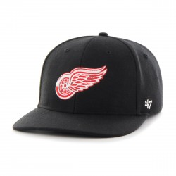 Red Wings Full Cap Schwarz  Original '47™ DETROIT RED WINGS Basecaps Snapbacks Mützen Hats