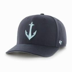 Seattle Kraken NHL Cap | Navyblau/Grau | Original '47™ NHL KRAKEN Basecaps Snapbacks Mützen Hats