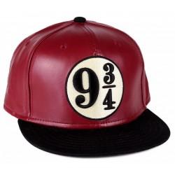 9 ¾ Leder Snapback  Harry Potter College Baseball Caps Kappen Mützen