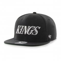 L.A. KINGS Kool Savas Cap | Schwarz/Grün | Original '47™ DP MICROFASER NHL Kings Basecaps Mützen Hats