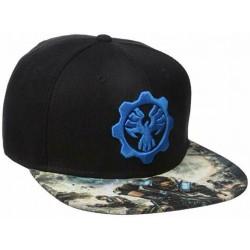 Gears of War Snapback Cap | GOW 4 Zahnrad des Krieges Baseball Caps Kappen Snapbacks Mützen Hats