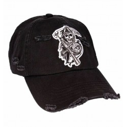 Reaper SOA Caps | Original Sons of Anarchy Biker Baseball Kappe