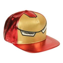 Iron Man Metal Cap | Original Marvel Maske Snapback Caps