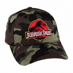 Jurassic Park Camo Caps | Originale Spielberg Jurassic Park Baseball Cap