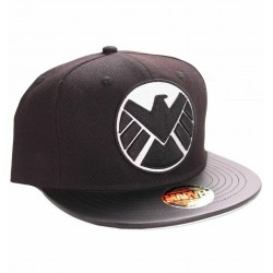 Agents of S.H.I.E.L.D. Caps | Marvels Import 3D Logo Snapback